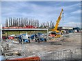 SD7807 : Radcliffe Park and Ride Construction - April 2014 by David Dixon
