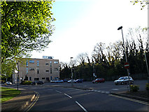 SU9850 : Guildford School of Acting & GSA Car Park by Adrian Cable