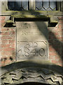 SK7842 : Inscription, St Peter's Church, Flawborough by Alan Murray-Rust