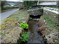 ST4290 : Small stone bridge over St Brides Brook north of  St Brides Netherwent by Jaggery