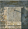 SK7947 : Sundial, St Michael's Church, Cotham by Alan Murray-Rust