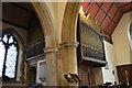 TQ4210 : Organ, St Thomas à Becket church, Cliffe, Lewes by Julian P Guffogg