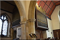 TQ4210 : Organ, St Thomas à Becket church, Cliffe, Lewes by Julian P Guffogg