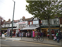 TQ1884 : Indian shops on Ealing Road, Alperton by David Howard