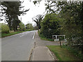 TM3569 : Pouys Street, Sibton by Adrian Cable