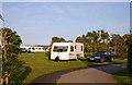 SW5840 : Godrevy Park Caravan Club Site, Upton Towans, Hayle by Jo Turner