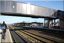 SP5006 : Footbridge, Oxford Station by N Chadwick
