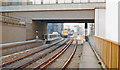 TQ3180 : Northward from Blackfriars Station, 1989 by Ben Brooksbank