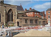 SK5804 : Leicester, The Lanes Quarter by David Hallam-Jones