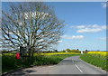 TL1130 : Letter box and telephone kiosk at Pegsdon by Humphrey Bolton