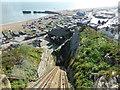TQ8209 : East Hill Cliff Railway, Hastings by PAUL FARMER