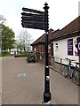 TM4291 : Roadsign at The Quay by Adrian Cable