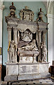 ST8082 : St Michael & All Angel's church, Great Badminton: Beaufort monument by Mike Searle