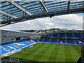 TQ3408 : View from the West Stand, Amex Stadium by Paul Gillett