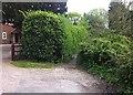 SU7260 : Church Lane, Heckfield by Hugh Craddock