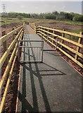 SX9066 : New footbridge, Browns Bridge Road by Derek Harper