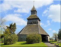 SO3958 : Pembridge Bell Tower by Philip Pankhurst