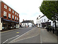 TM4290 : A145 Exchange Square, Beccles by Adrian Cable