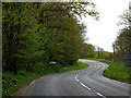 TM4189 : Entering Barsham on the B1062 Bungay Road by Adrian Cable