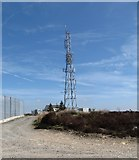 J0524 : The BBC Relay Mast on Camlough Mountain by Eric Jones