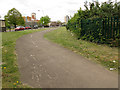 TQ3677 : Disused cycle lane, Pagnell Street, Deptford by Stephen Craven