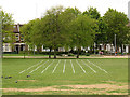 TQ3677 : Running track, Fordham Park, Deptford by Stephen Craven