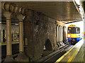 TQ3578 : Train entering Surrey Quays station by Stephen Craven