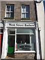 NT9952 : Berwick-Upon-Tweed Townscape : West Street Barbers by Richard West