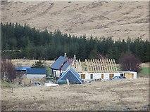NM6331 : Construction work, Ishriff by Richard Webb