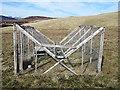 NN9978 : Corvid trap in Gleann Mòr by William Starkey