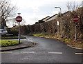 ST2789 : No entry to Groes Road, Rogerstone, Newport by Jaggery