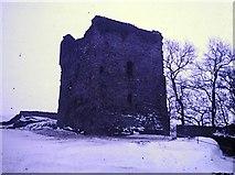 SK1482 : Peveril Castle in 1979 by Clint Mann