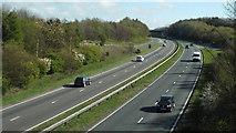 NZ3455 : A19 near Sunderland by Malc McDonald