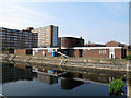 TQ4279 : Woolwich graving docks: central building by Stephen Craven
