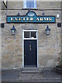 TF1205 : Entrance to the former Exeter Arms public house, Helpston by Paul Bryan