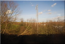 SU5290 : Mast at Didcot Junction by N Chadwick