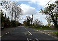 TM4384 : A145 London Road, Willingham by Adrian Cable