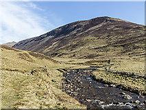 NO0872 : Footbridge over the Allt Ghlinn Thaitneich by William Starkey
