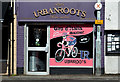 J3773 : Giro d'Italia, hairdresser, Ballyhackamore, Belfast (April 2014) by Albert Bridge