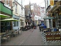 TQ8209 : George Street, Hastings by Dieter Hoegerle