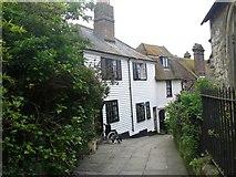 TQ8209 : Church Passage Cottage by Dieter Hoegerle