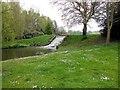TQ8353 : Water cascade in Leeds Castle grounds by Paul Gillett