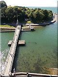 SH4762 : Caernarfon: Aber Bridge by Chris Downer