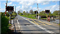D0804 : Galgorm level crossing, Ballymena - April 2014(2) by Albert Bridge