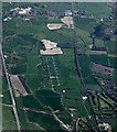 SJ6496 : Glazebury explosives depot from the air by Thomas Nugent