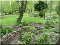 TQ4365 : Garden in Park Avenue, Farnborough Park by Marathon