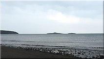 SH1824 : Ynys Gwylan-fawr and Ynys Gwylan-bach by Anthony Parkes