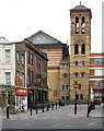 TQ3182 : Church of Our Most Holy Redeemer Church, Exmouth Market by Julian Osley
