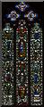 SE6052 : Stained glass window, sXXXIII, York Minster by J.Hannan-Briggs