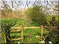SE2651 : Obstructed path, Beckside Farm by Derek Harper
